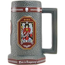 Warhammer 40000 Blood Angels - Jarra de cerveza, diseño de piedra