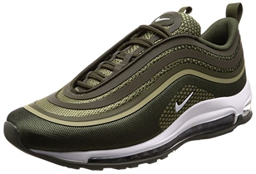 newest 3be56 1762f Nike Men's Air Max 97 Ul '17 Gymnastics Shoes, Green (Cargo ...