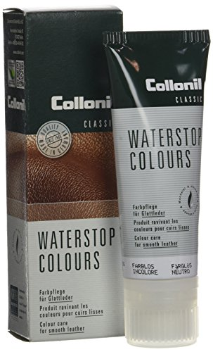 Collonil Waterstop Classic 33030001797, Unisex-Erwachsene Schuhcreme, 75 ml Mehrfarbig (farblos)