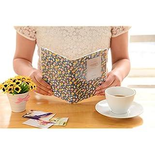 Akooya Photo Album Polaroid Namecard Storage Case Mini Film 84 Pockets for Fuji Instax mini 8 - flower