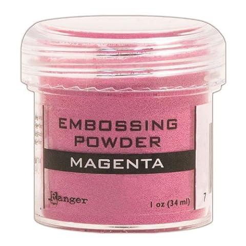 Ranger Embossing Powder, 1-Ounce Jar, Magenta by Ranger