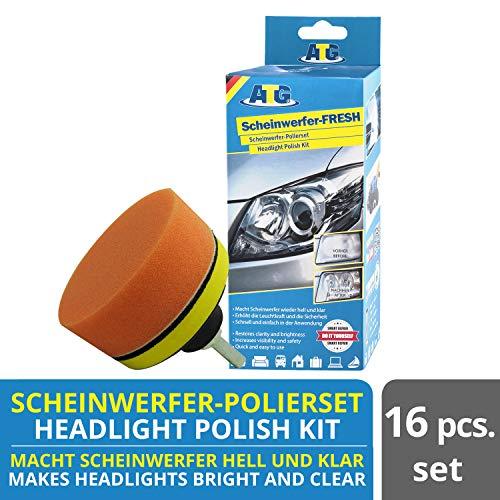 ATG | Scheinwerfer Aufbereitung Set | Scheinwerfer-FRESH | Polierset | Plexiglas Politur | ATG112