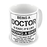 Best Doctor Mugs - Being A Doctor Is Easy It's Like Riding Review