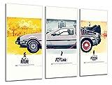 Cuadros Camara Poster Moderno Fotografico Regreso Al Futuro, Cine, 97...