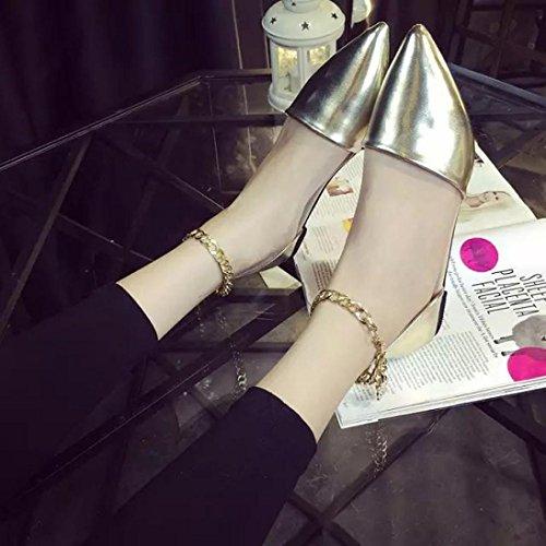 Lanspo , Tongs pour femme beige beige silver