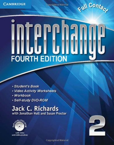 Interchange 4th 2 Full Contact with Self-study DVD-ROM (Interchange Fourth Edition)