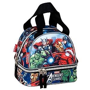51UR6LZTUJL. SS300  - PERONA Bolsa portameriendas Vengadores Avengers Marvel Alliance