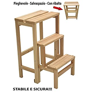 Trittleiter Holz trittleiter holz heimwerker markt de