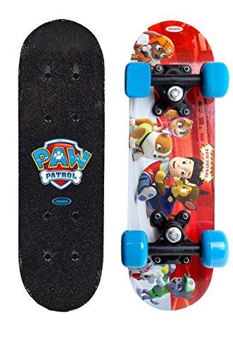 PAW PATROL- Skateboard Monopatin Mini Skate en Madera 17 Pulgadas, (Darpeje OPAW247)