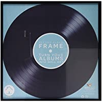 Marco de vinilo disco del álbum – Record Album Vinyl Frame – Negro