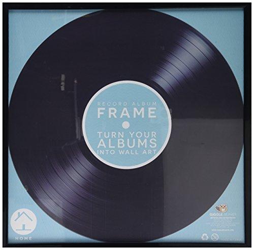 Schallplatten Rekord Album Rahmen - Record Album Vinyl Frame - Schwarz -