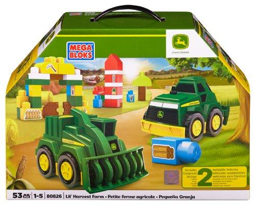(Mega Bloks 80826 - John Deere - Lil' Harvest Farm)