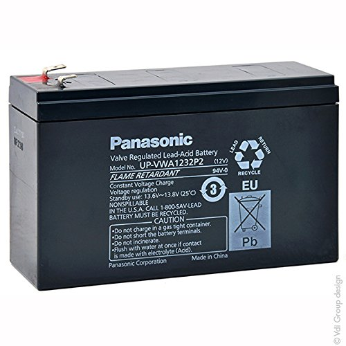 Panasonic - Akku Blei AGM UP-VWA1232P2 12V 5Ah - Akku(s)