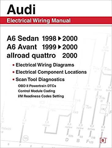 Audi A6: Electrical Wiring Manual : A6 Sedan 1998, 1999,