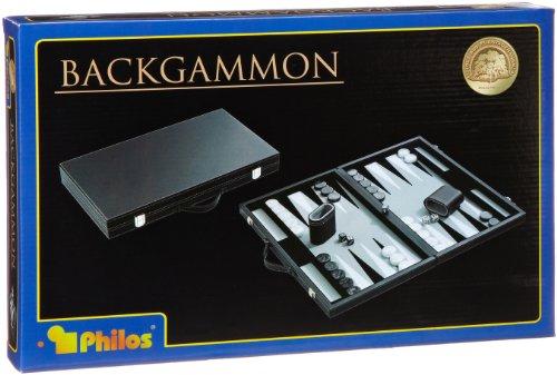 Philos–1731–Backgammonspiel–Kunstleder