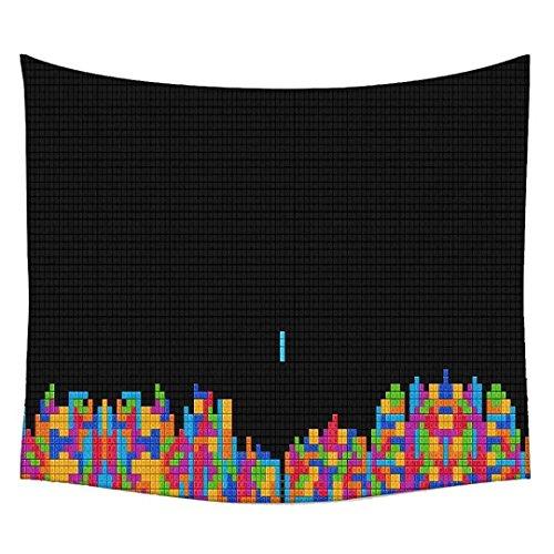 Multi-spiel Tabelle (Computer Spiel Wandteppichen indischen Mandala Tapisserie Dekorative Wohnheim Wandteppichen Beach Picknick Tabelle Hippie Tapisserie Wand, Bohemian, multi, 42 x 30)