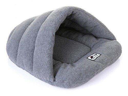 UnionBoys Hundehöhle Katzenbett Schlafsack für Kätzchen Welpen in 4 Größen