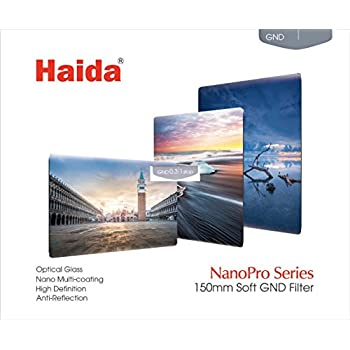 HAIDA NanoPro MC Optical 170 mm x 150 mm GND Soft Edge Verlaufsfilter 0,9 (8x) (12,5 %) - Kompatibel mit Serie 150 Haltern
