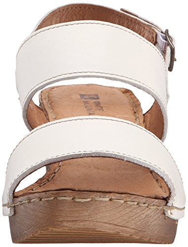White Mountain Motor Cuir Sandale white