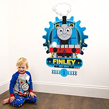 This Item Personalised Thomas U0026 Friends Cog Wall Sticker Pack (Extra Large  Size) | Official Thomas U0026 Friends Wall Stickers Range