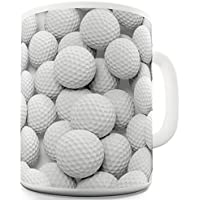 Lots Twisted Envy-Tazza da tè in ceramica, confezione da 12 palline da Golf