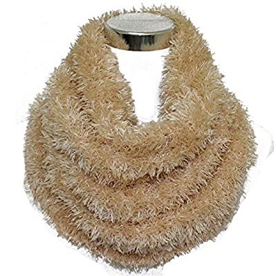 Fully Women's Faux Fur Stretchable Scarf Winter Faux Fake Fur Stole Scarf Wrap Collar Shawl Shrug, 20 Grams, Pack Of 1