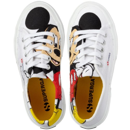 Superga 2750- DISNEY TOPOLICOTJ S002EG0, Sneaker unisex bambino, Multicolore (Mehrfarbig (White F01)), 30