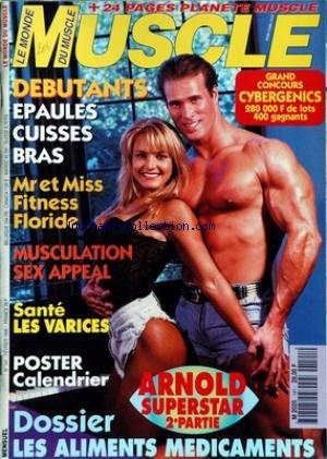MONDE DU MUSCLE (LE) [No 141] du 01/02/1995 - DEBUTANTS - EPAULES - CUISSES ET BRAS - MR ET MISS FITNESS FLORIDE - MUSCULATION SEX APPEAL - SANTE - LES VARICES - LES ALIMENTS MEDICAMENTS. par Collectif
