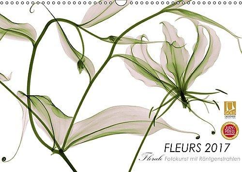 Preisvergleich Produktbild FLEURS 2017 - Florale Fotokunst mit Röntgenstrahlen (Wandkalender 2017 DIN A3 quer): Jenseits des Lichts - Kunstvolle Einblicke in die Architektur der ... (Monatskalender, 14 Seiten ) (CALVENDO Natur)