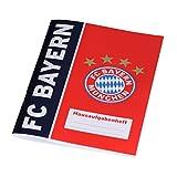 FC Bayern München Hausaufgabenheft / Aufgabenheft / Schulheft FCB