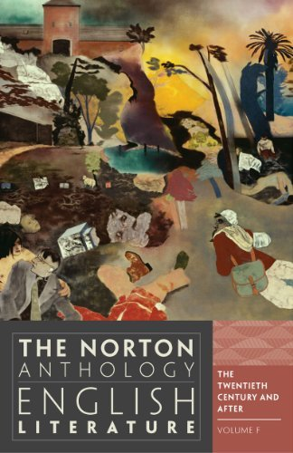 By Stephen Greenblatt - The Norton Anthology of English Literature: 20th Century and After v. F 20C (9th Revised edition)