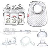 Nuby Natural Touch Bottle Feeding Starter Kit
