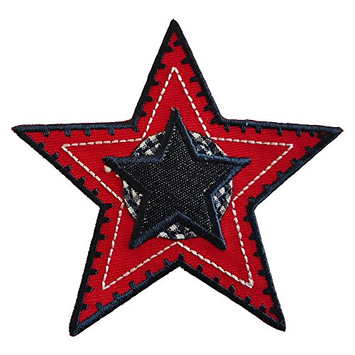 2-ecussons-patch-appliques-lattitude-red-star-9x9cm-autobus-a-imperiale-8x6cm-thermocollant-brode-br