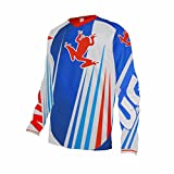 Uglyfrog Bike Wear Atmungsaktiv Trendy Herren Downhill/MTB Jersey Mountain Bike Shirt Fahrradtrikot Langarm Freeride BMX Fr¨¹Hling Top MF06