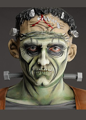 ress Monster Halsschrauben (Frankenstein Kostüme Schrauben)