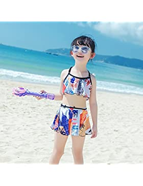 HAIYOUVK Parent-Child Models Beach Pants One-Piece Dress-Style Thin Coveralls Swimsuit Spa One-Three Swimsuits...