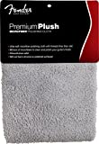 Fender 099-0525-000 Premium Plush Microfiber Polishing Cloth, Gray
