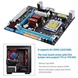 FairytaleMM P45 Computer Mainboard Motherboard 771/775 DDR3 Dual Board Support L5420