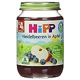 Hipp Heidelbeeren in Apfel, 190 g