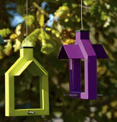 Futterstation Alicante Vogelhaus zum Aufhängen – lindgrün - 3