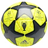 adidas Taille 4 2019 Champions League Madrid Ballon de Football Final, Jaune Ans 8-12...