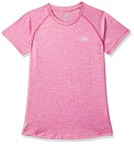 Nivia 2367-2 Hydra-2 Polyester Training Tee, Adult Large (Pink)