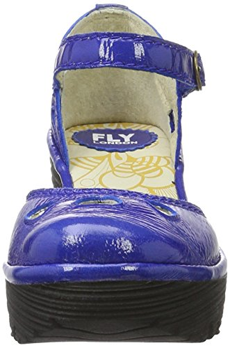 Fly London  Yuna, Escarpins femme Bleu (Blue 132)