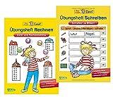 Carlsen Verlag GmbH Übungsheft Schreiben: Schreiben zu Bildern (Conni Gelbe Reihe) Taschenbuch und Übungsheft Rechnen: Denk- und Rechentraining (Conni Gelbe Reihe) Taschenbuch