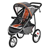 Graco FastAction Fold Jogger Click Connect Stroller, Tangerine by Graco