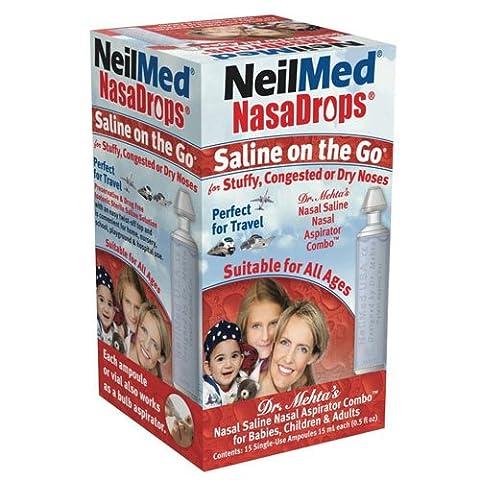 NeilMed Saline On the Go NasaDrops
