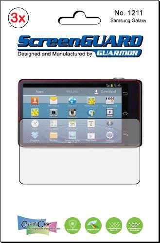 3x Samsung Galaxy Kamera EK-GC100/Galaxy Camera 2EK Premium Clear LCD displayschutzfolie Cover Guard Shield Schutzfolie Kit., exakte Passform, kein Schneiden. (3Stücke von GUARMOR) Lcd-hood Kit