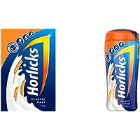Horlicks Health & Nutrition drink - 1 kg Refill pack (Classic Malt) Horlicks Health & Nutrition Drink - 500 g Pet Jar…