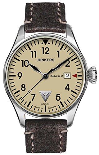 Junkers Armbanduhr 6150-5 Herrenuhr