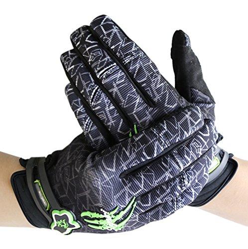 [Fahrradhandschuhe] Xiyalri Fahrrad Voll Finger warmen Radsporthandschuhe Motorrad Mountainbike Handschuhe für Herren und Damen (X Large) - 3